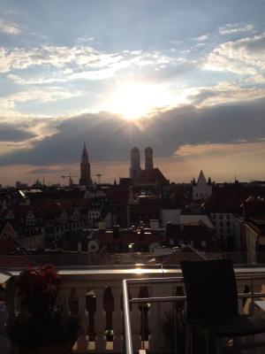 Aussicht Mandarin Oriental München