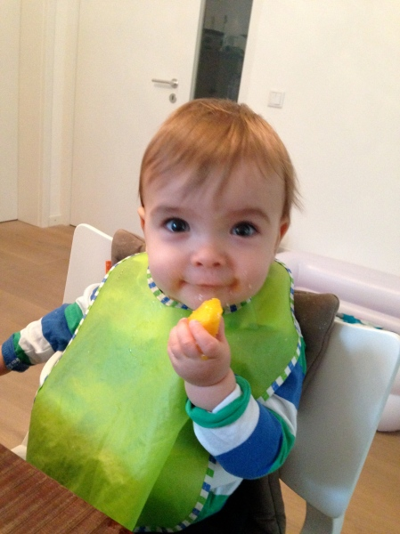 baby isst mango