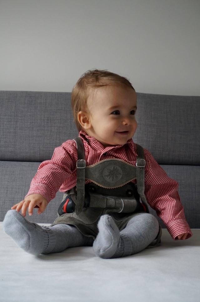 Baby Lederhosen Babytracht