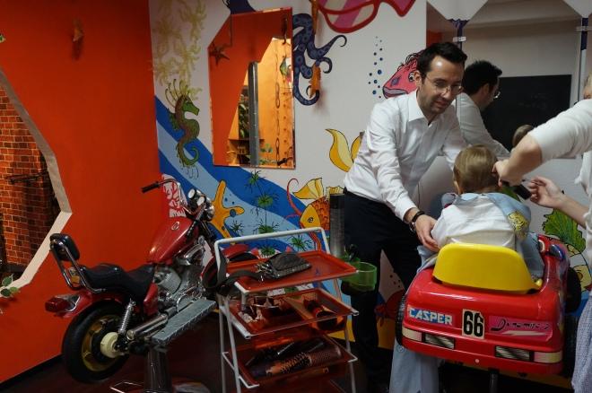Friseursalon für Babys und Kinder