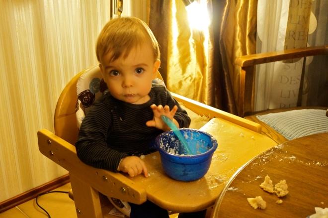 baby isst nun selbst