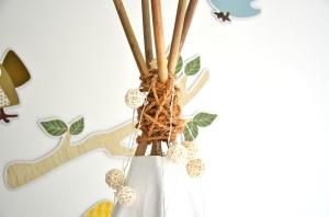 Tipi Bambus