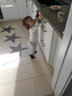 Babys frühstück