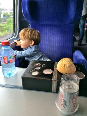 TGV mit Kind