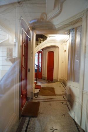 Eingangsbereich Pariser Wohnung