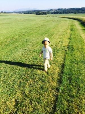 Ballonfahrt mit Kind