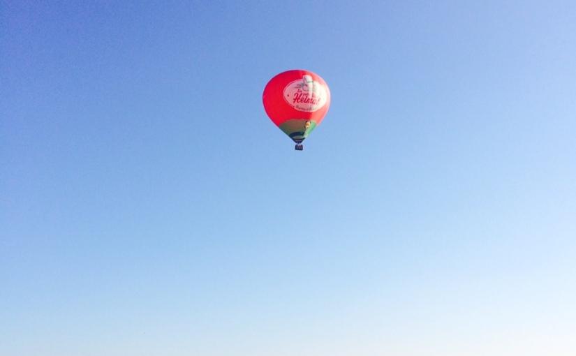 Unsere Ballonfahrt