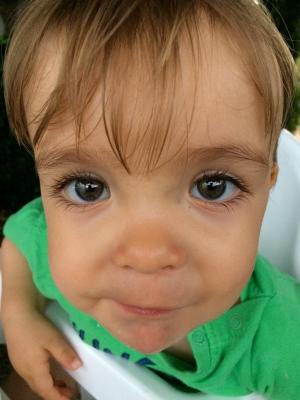 Seine Augen!