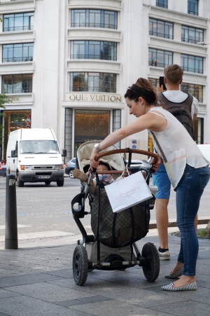 Shoppin in Paris