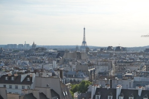 Eiffelturm vom Centre Pompidou