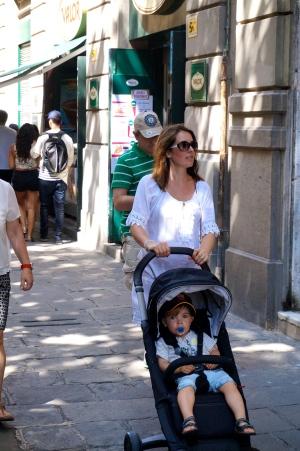 Barcelona mit Kind