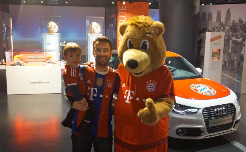 Familiensonntag in der FC BayernErlebniswelt