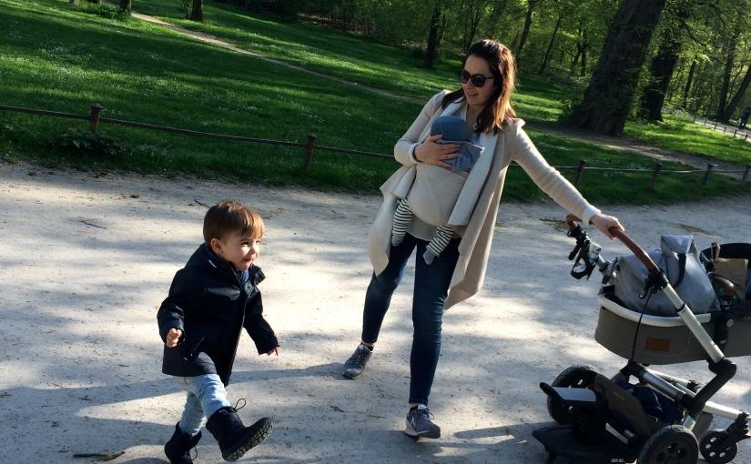 … mit meinen 2 Babysunterwegs